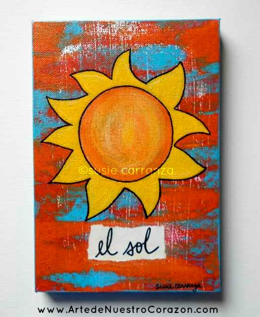 """""""el sol"""" @susie carranza studio"""