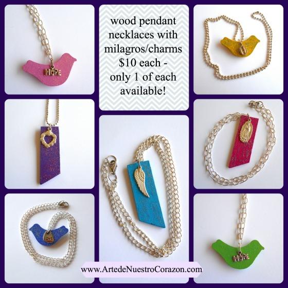 necklaces available at Arte de Nuestro Corazon