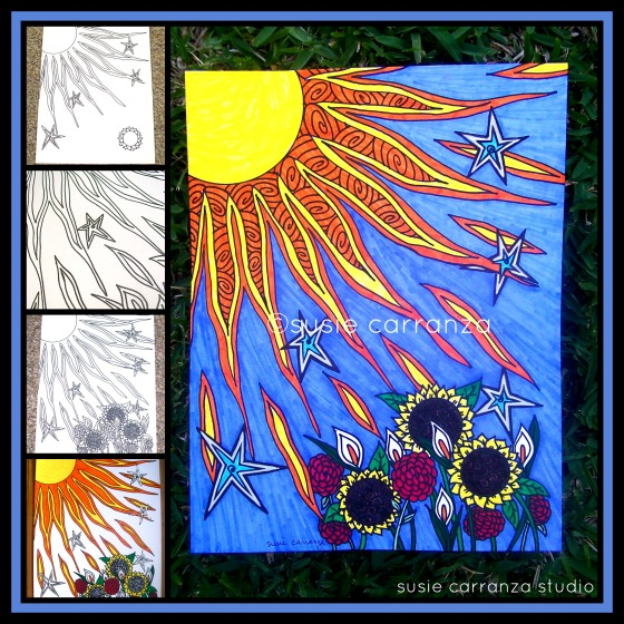 suncolormarkerdrawingprocessWM