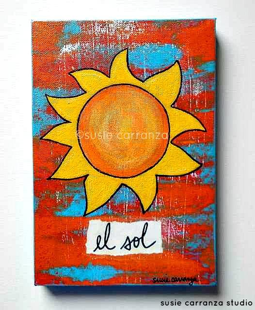 """""""el sol"""" by susie carranza"""