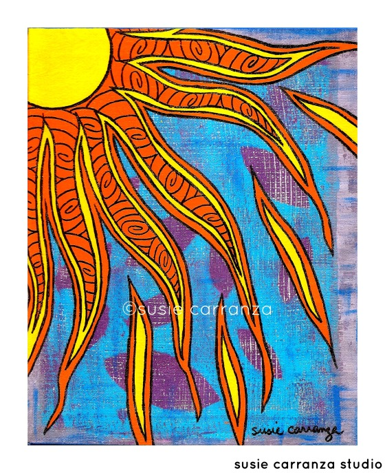 """Sun"" by susie carranza"