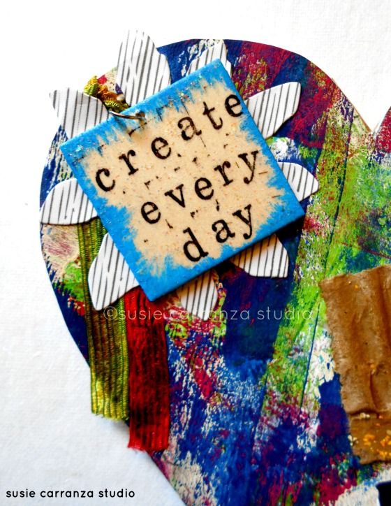 art badge for The Studio (FB); create every day