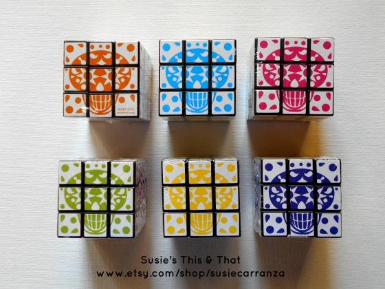 sugar skull puzzle cubes...