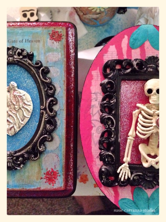 newest pieces: mixed media wood plaques