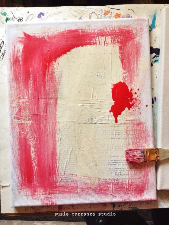 art therapy (WIP) - susie carranza studio