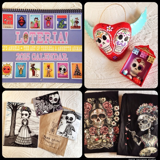 items from CJ's Angels, Terra Maya, Lupe Flores, and Hecho con Carino...