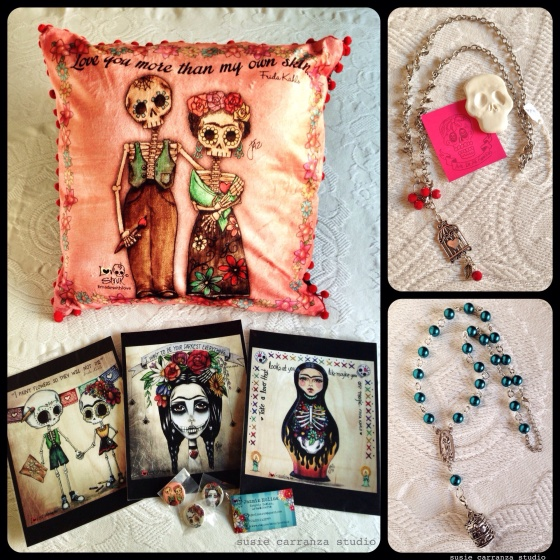 shopped! Items from Jazzy Jazz, Inspira, and Arte de mi Familia...