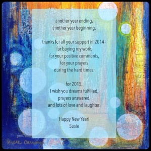 Happy New Year from Susie Carranza Studio
