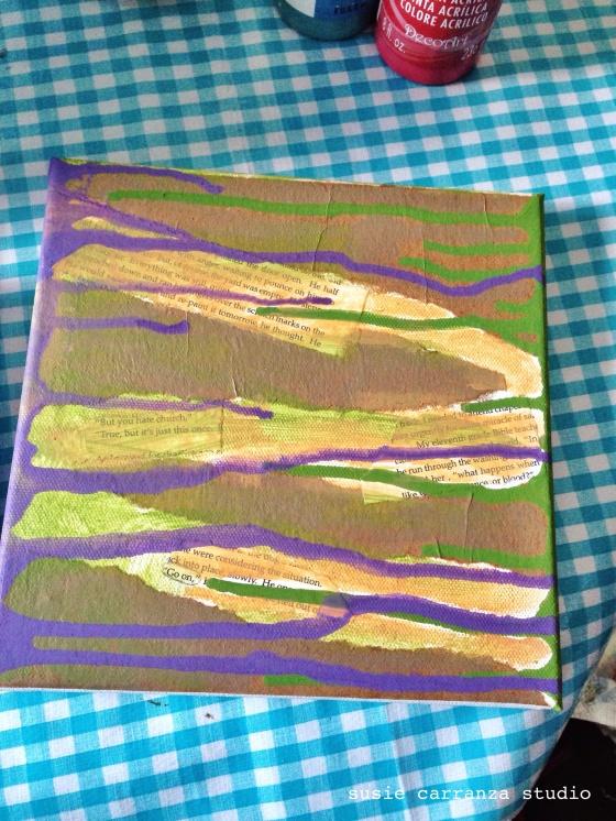 dripping paint - susie carranza studio
