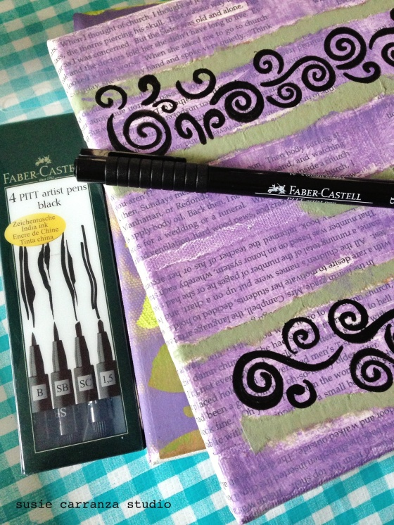 Faber Castell PITT artist pens - susie carranza studio