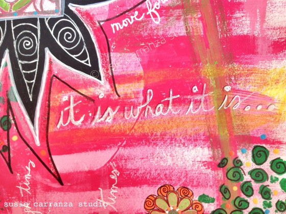 """it is what it is"" journal detail - susie carranza studio"