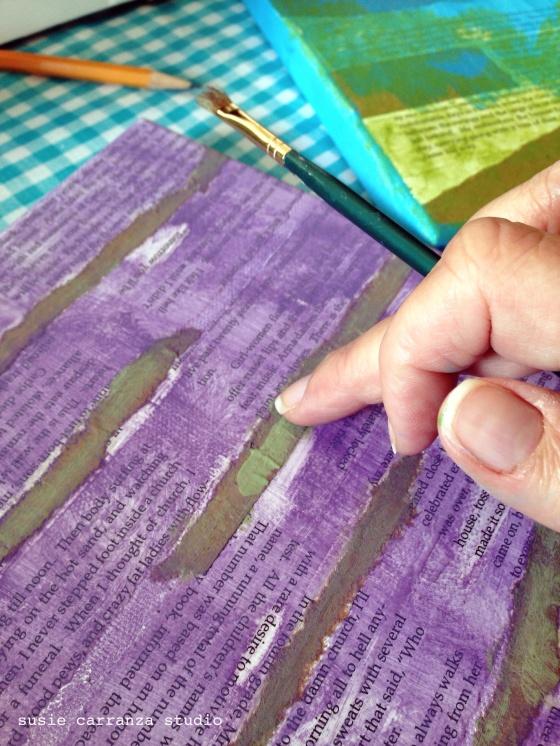 finger painting - susie carranza studio