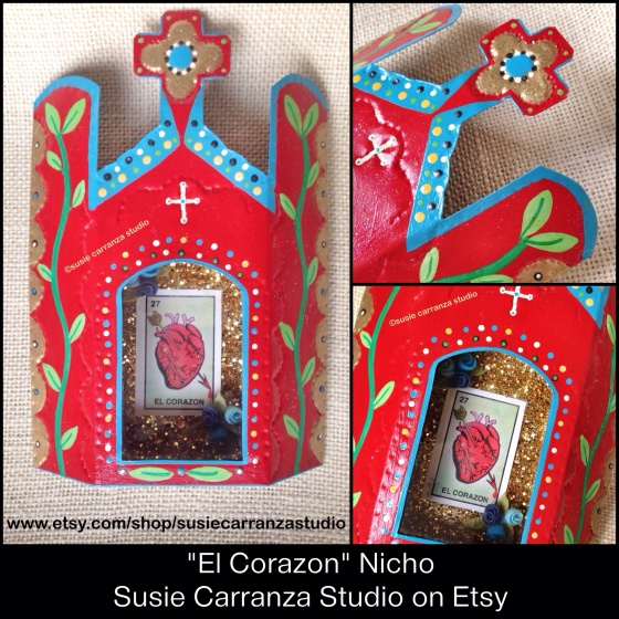 El Corazon Nicho by Susie Carranza Studio on Etsy