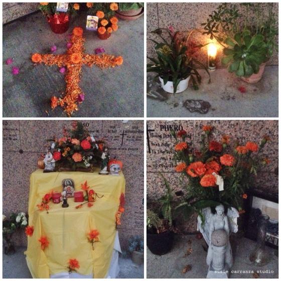 Dia de Los Muertos 2015, San Gabriel Mission - susie carranza studio