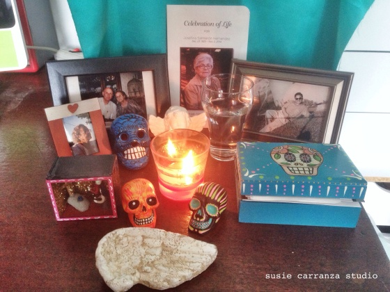 Part of our altar, 2015 - susie carranza studio