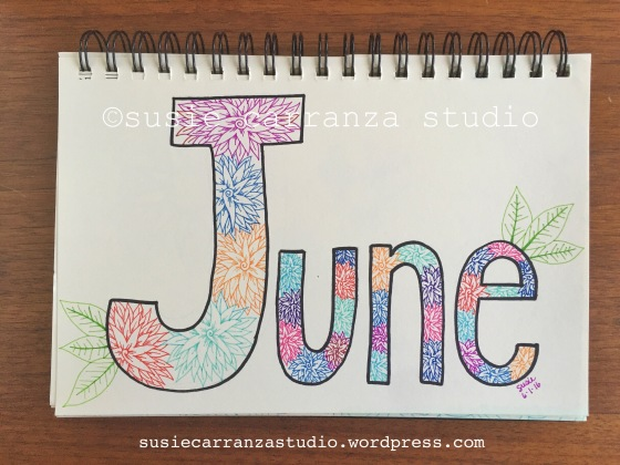 Hello June - susie carranza studio