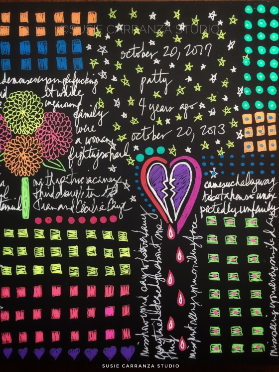 art journaling helps me grieve - susie carranza studio