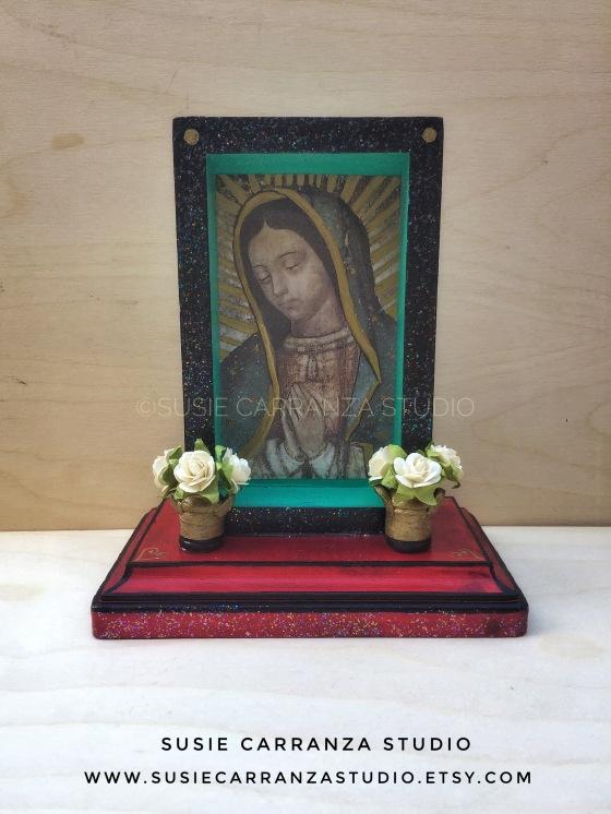 Virgen de Guadalupe Nicho - Susie Carranza Studio